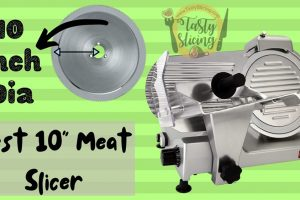 Best 10 inches Meat Slicer for all slicing needs | Best Pick included