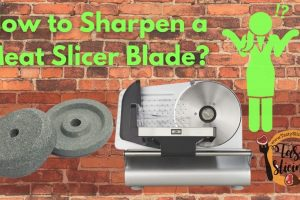 How to Sharpen a Meat Slicer Blade? Perfect way to do!