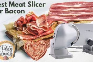 Best Meat Slicer for Bacon 2021 | Also perfect for all meats types